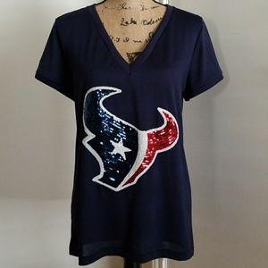 2de3297d PINK V.S Houston Texans Bling Shirt
